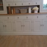 Painted shabby chic desk