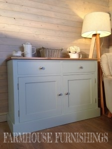 Painted Oak Kitchen Island