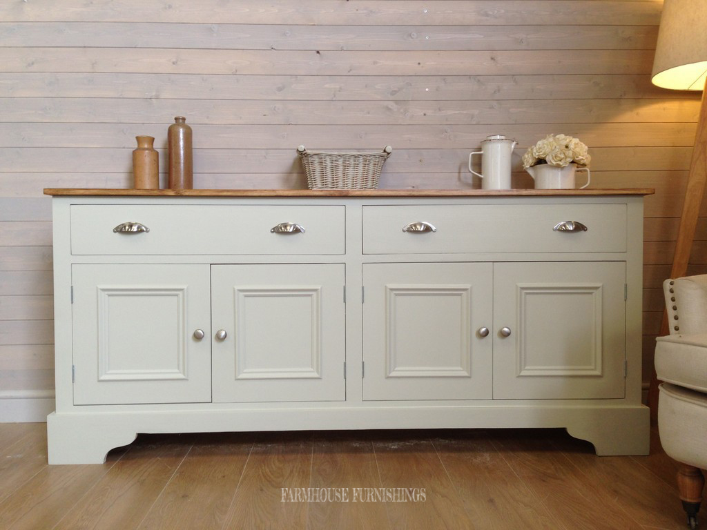 painted solid pine sideboard handmade solid pine 6ft. Black Bedroom Furniture Sets. Home Design Ideas