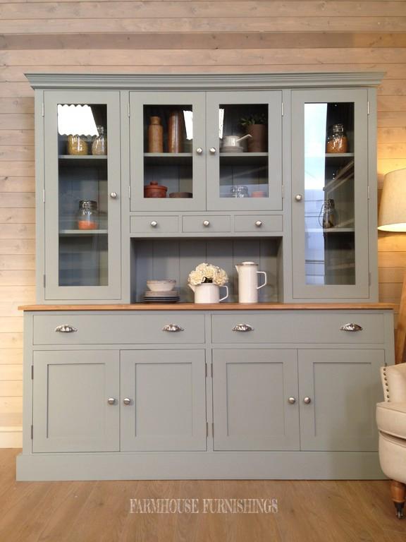Beautiful Painted Welsh Dresser - Farmhouse Furnishings