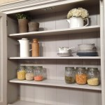 cream kitchen dresser