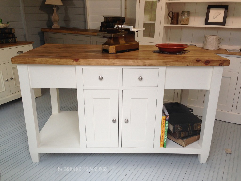 X  Painted Kitchen Island