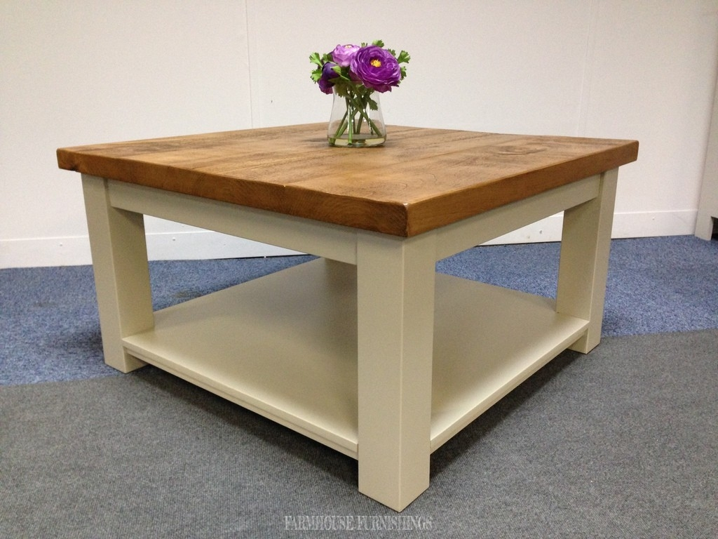 pine coffee table. Plank Top Solid Pine Square Coffee Table