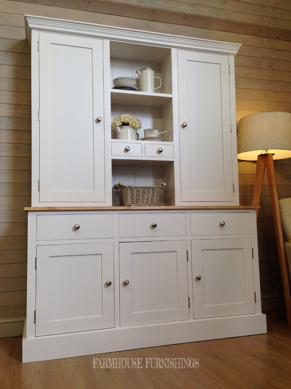 Hand Made Solid Pine 5ft Welsh Dresser Farmhouse Furnishings
