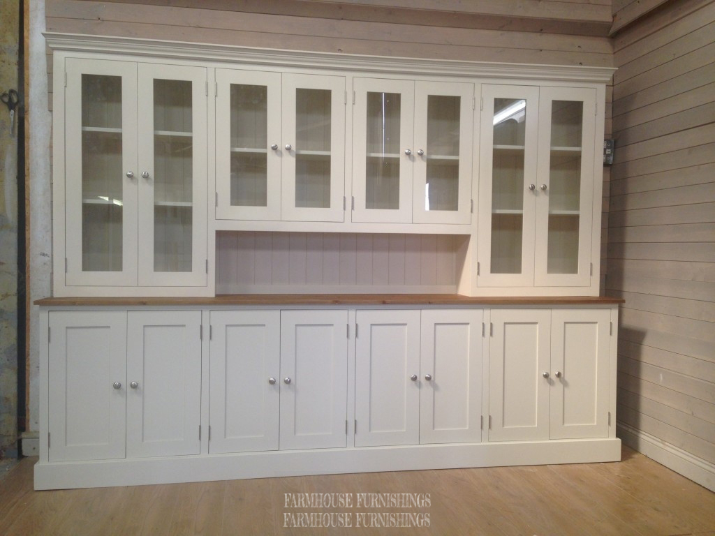 Huge 9ft Pine Kitchen Dresser For Sale Farmhouse Furnishings