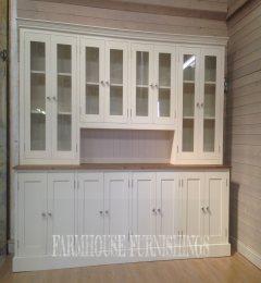 Huge 9ft Pine Kitchen Dresser For Sale