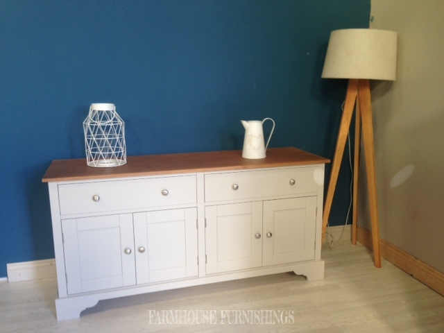 Beautiful Solid Pine 5ft Media Cabinet Farmhouse Furnishings