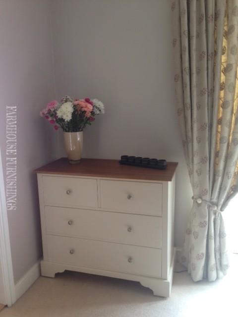 Handmade Solid Pine Painted Bedroom Furniture Farmhouse