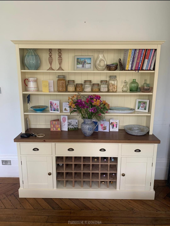6ft solid pine dresser